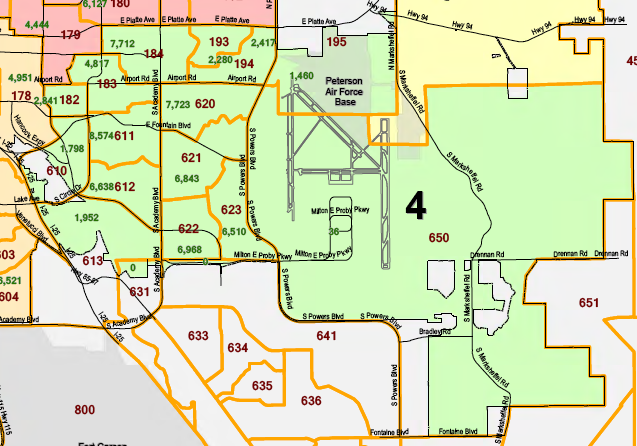 Colorado Springs City Council District 4