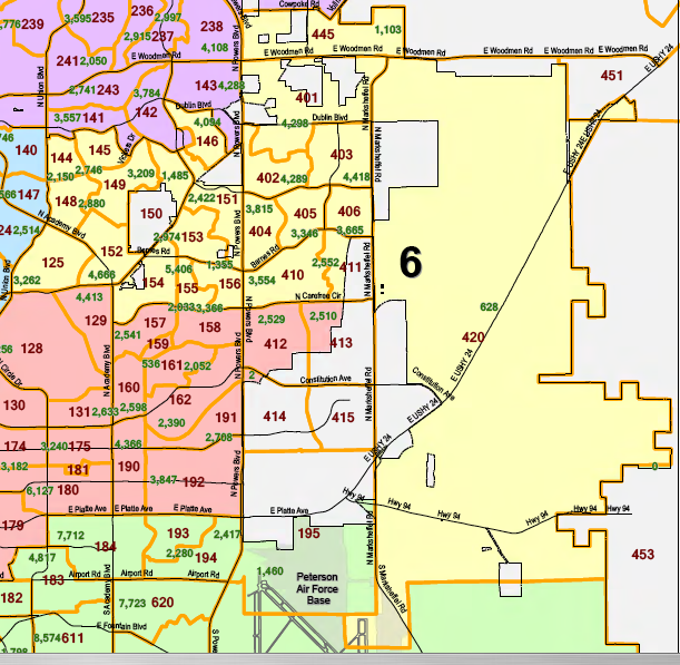 Colorado Springs City Council District 6